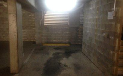 Car space - storage area