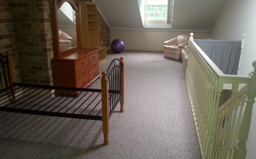 attic space for internal storage