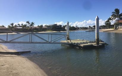 Mooloolaba - Private Pontoon for Boat or Jet Ski Storage