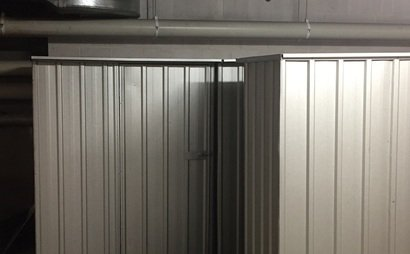 Secure Storage Shed #4 at UniLodge 1.5m x 0.8m x 1.8m