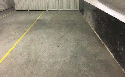Parking spot inside Meriton carpark in Mascot