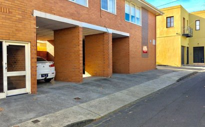 Secure covered car space in Lennox St Richmond