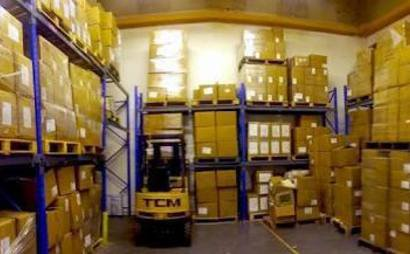 Warehouse pallet space or storage space available