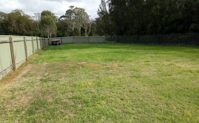 Catherine Field- Secured large yard space for rent