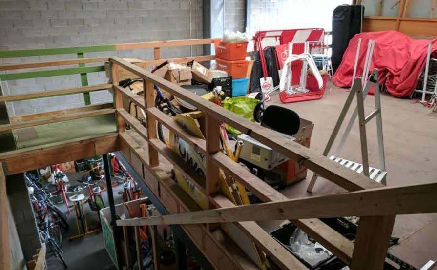 Preston-- Mezzanine storage space for rent