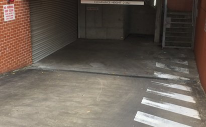 Secure Storage Shed #6 at UniLodge 1.5m x 0.8m x 1.8m