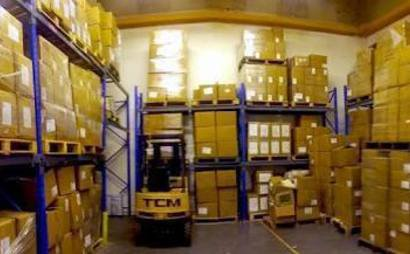 Warehouse pallet space or storage space available (18 Pallets)