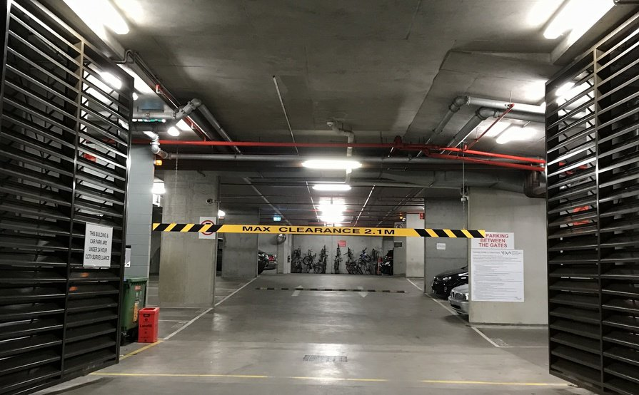 Southbank - Secure Undercover Parking Space near Station