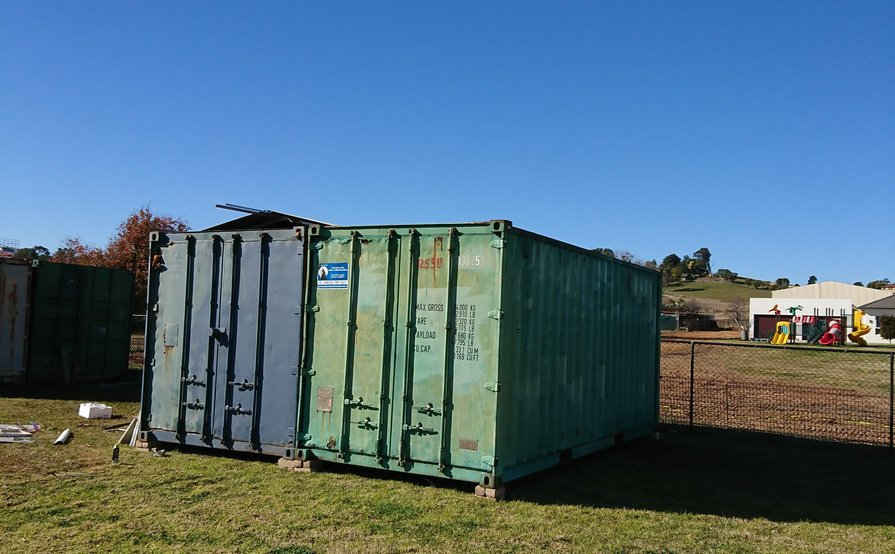 20ft Shipping Container available Now (Near Penrith and Liverpool)