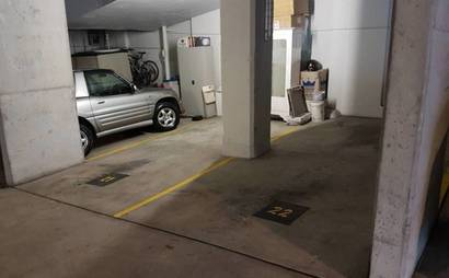 Woolloomooloo - Secure Undercover Indoor Parking near CBD