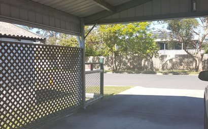 Undercover Carport across from Graceville Train Station