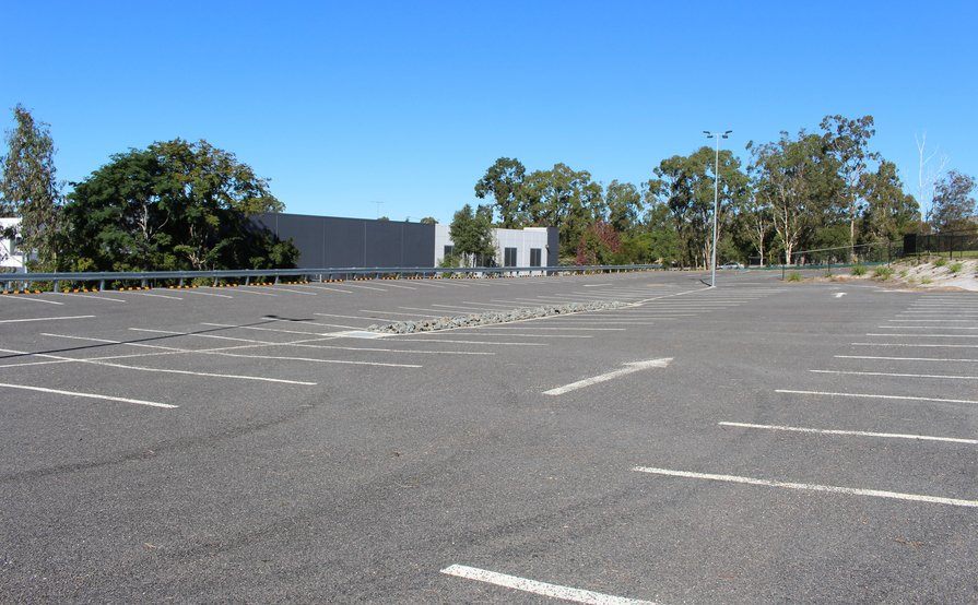 External car parks with boom gate entry available!