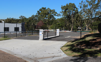 External car parks with boom gate entry available #2
