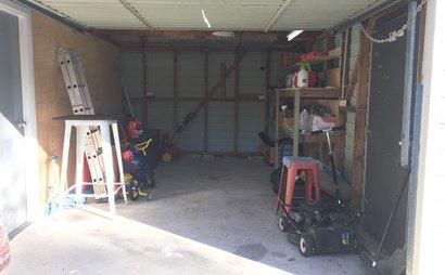 Large secured garage
