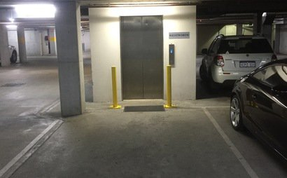 Building secure parking space in Burwood