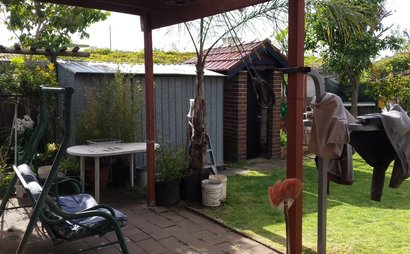 Lidcombe - Secure Shed for Storage near Shops, Bus Stops, Station & M4