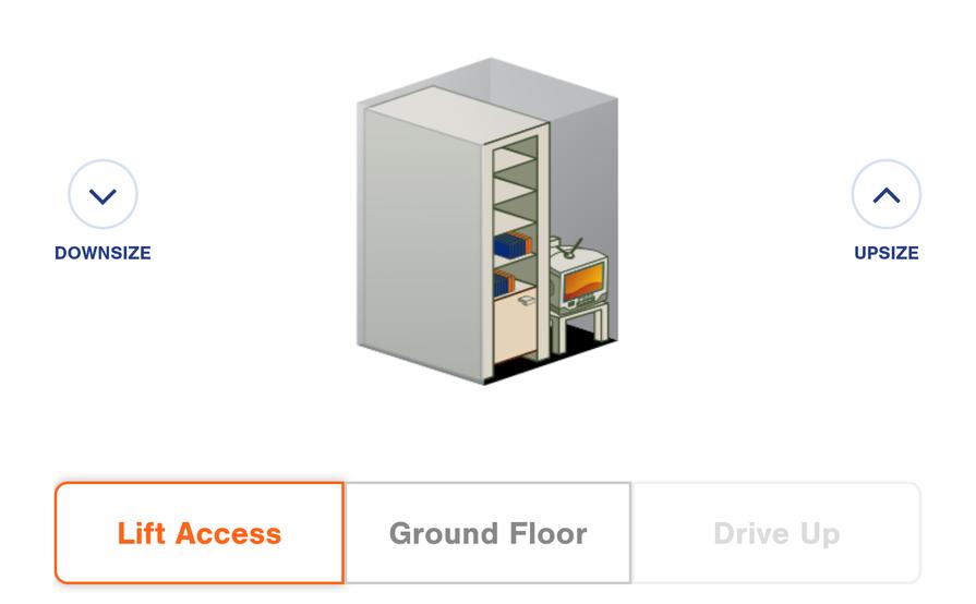 Little Collins street Melbourne 2.1 square metres mini storage unit