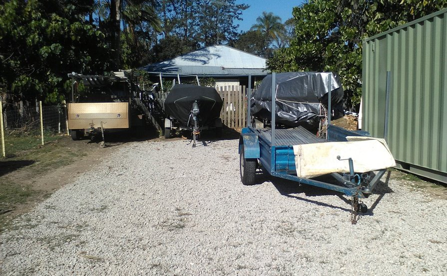 Nerang - Secure Gated Yard Space for Truck Storage #2