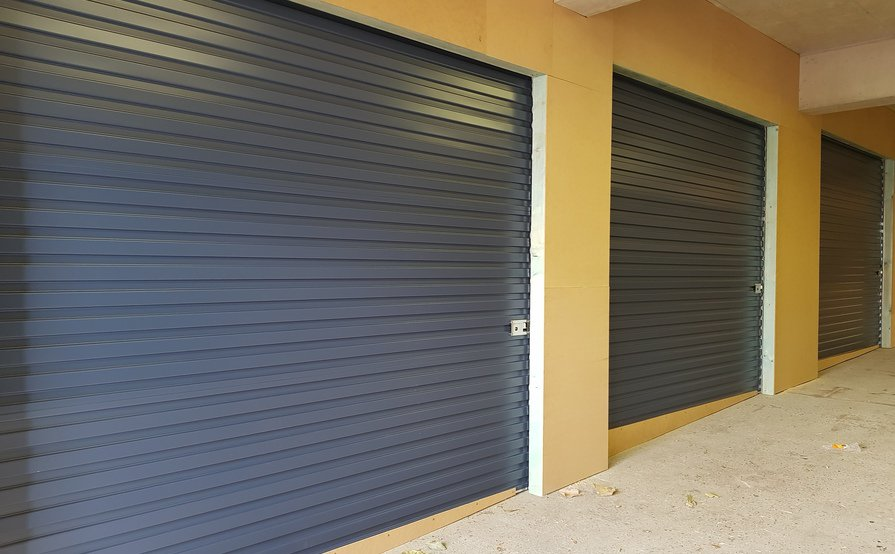 8.4 sqm Private storage unit within a secure factory at Peakhurst