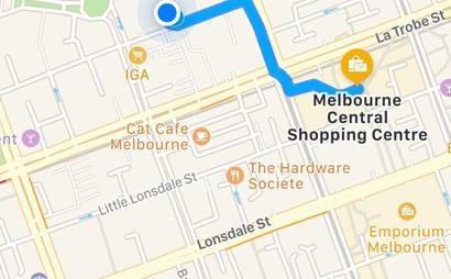 [MELBOURNE CENTRAL] Under Cover Car Park for rent (Available starting Nov 27)