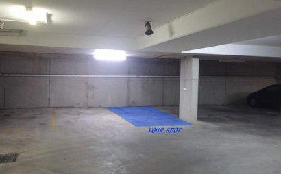 Secured, locked up car parking space Merrylands Station RENT