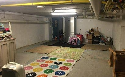 Basement storage space 11 m2 flexible