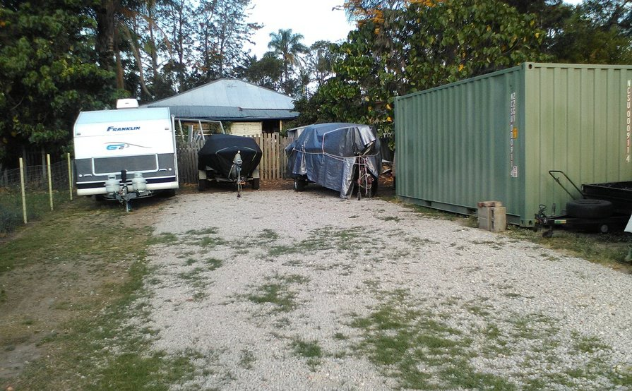 Nerang - Secure Gated Yard Space for Machinery Storage Suitable for 3 cars