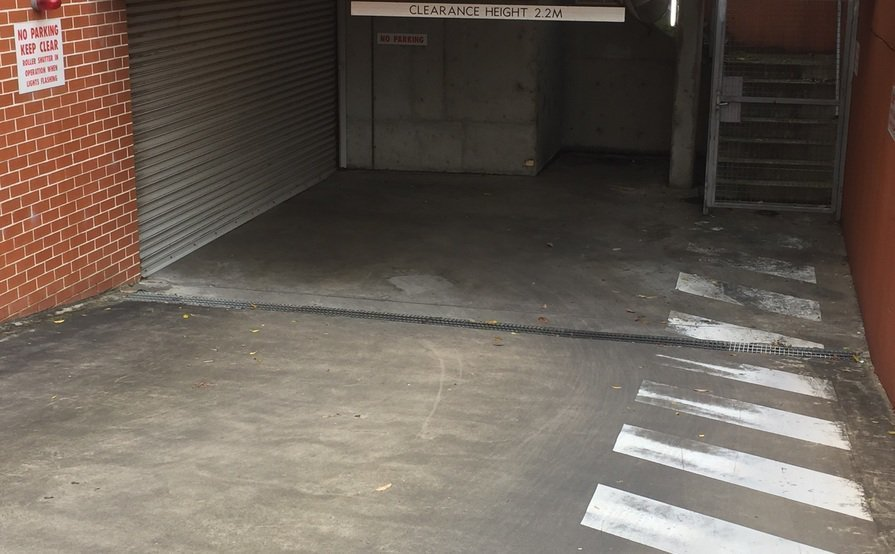 Secure Storage Shed #8 at UniLodge 1.5m x 0.8m x 1.8m