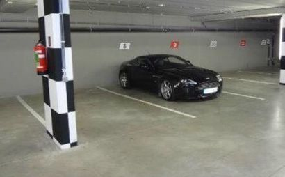 Secure Basement Car Park with remote control