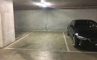 Closed car space in melbourne CBD