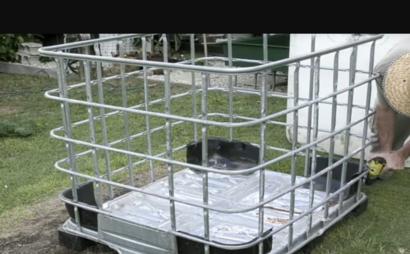 Portable Storage Cage