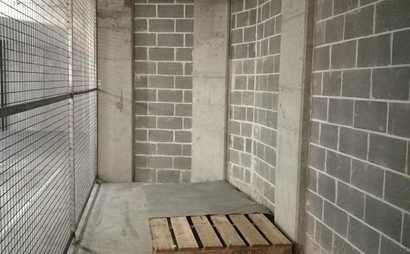large basement storage cage for leasing