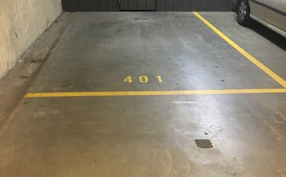 1 car space available in a locked garage with remote access 24/7