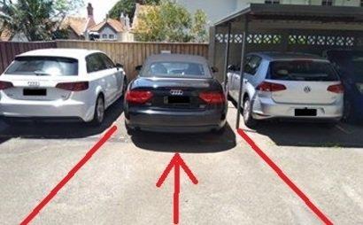 secured car park