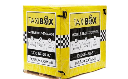 Delivery & Pick up of Self Storage Box in Marrickville