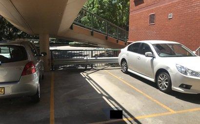 Secured parking in Erskineville