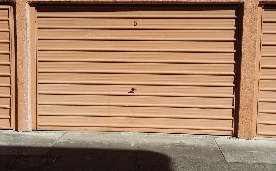 UQ parking/storage in lockable garage