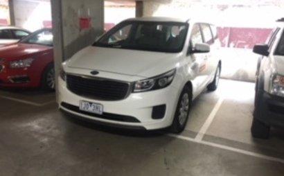 Melbourne - Secure Parking behind QV Market