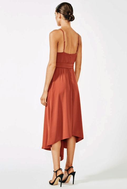 shona joy voltaire cocktail dress