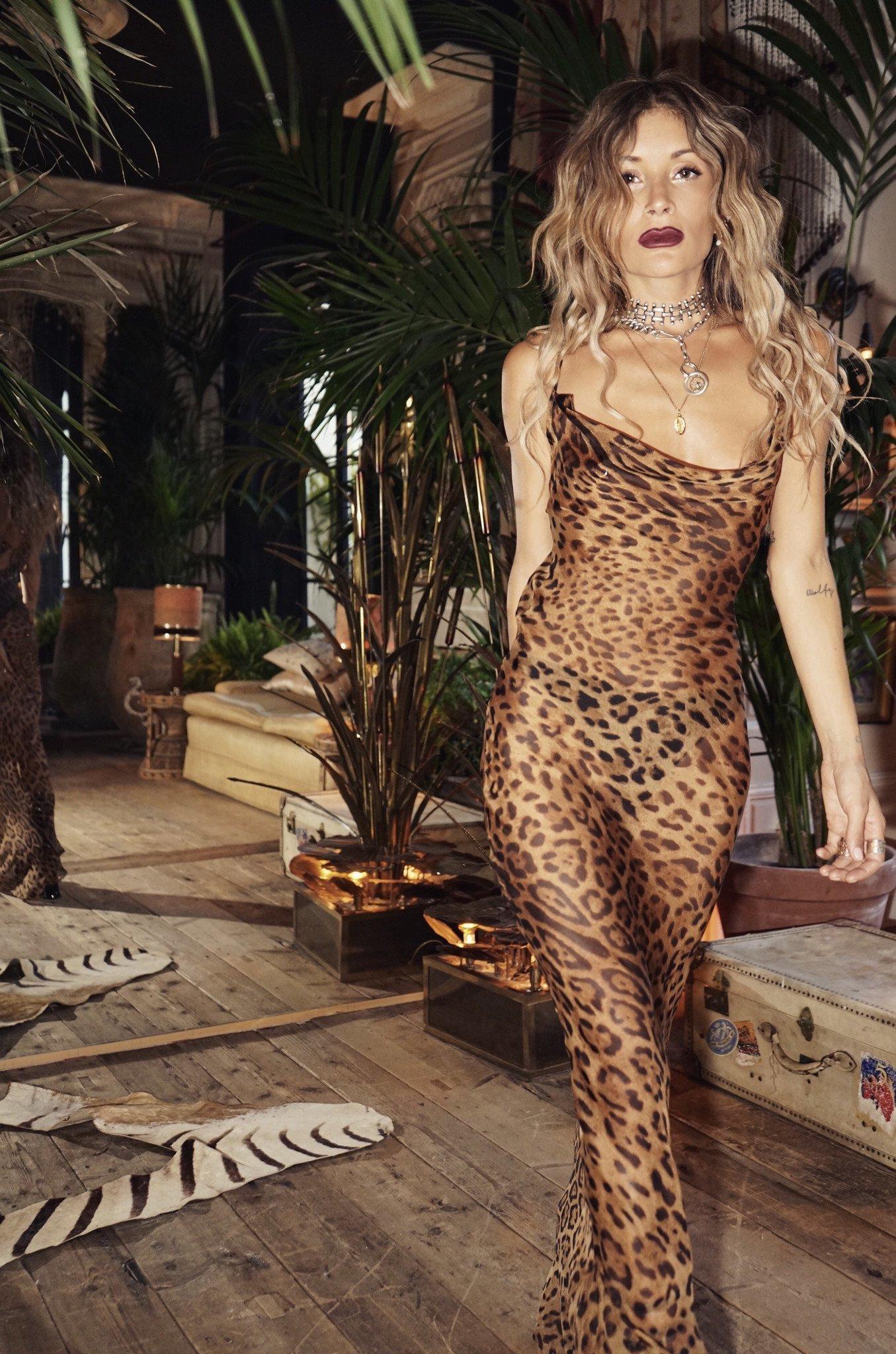 Rat Amp Boa Valentina Dress Leopard 10 The Volte