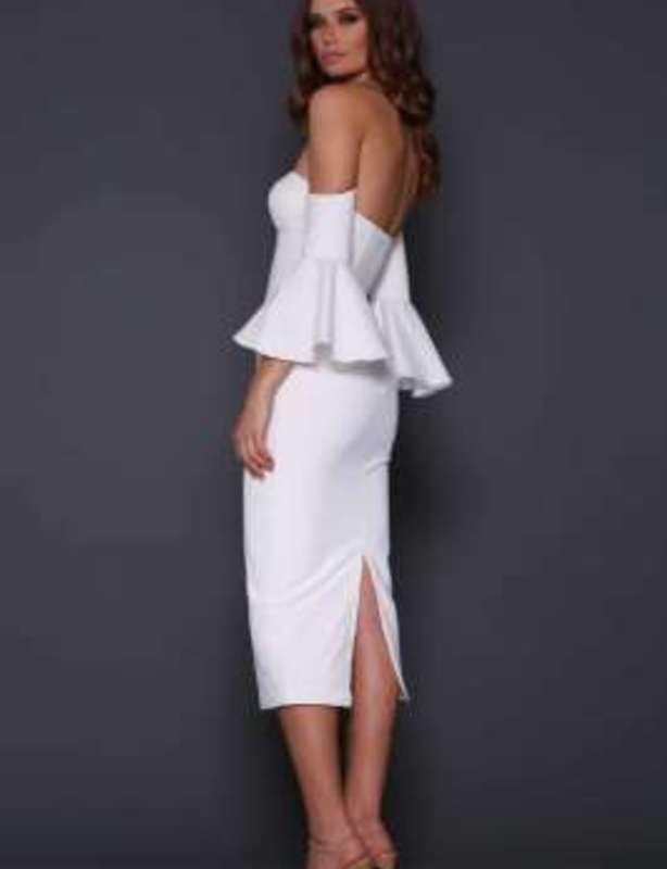 ELLE ZEITOUNE ELECTRA WHITE DRESS