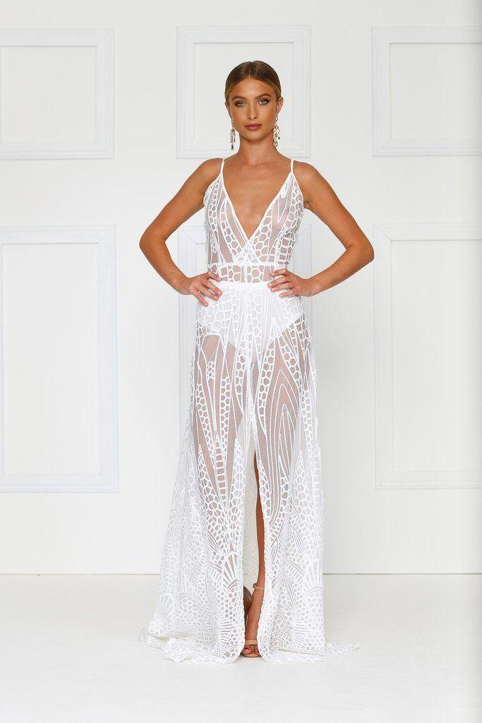 e25bbfffc95 Alamour The Label - Cristal Dress White
