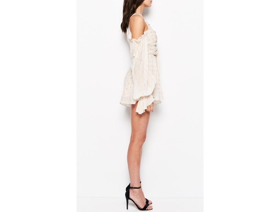 e653ed901f Alice McCall Did it Again Playsuit in Shell