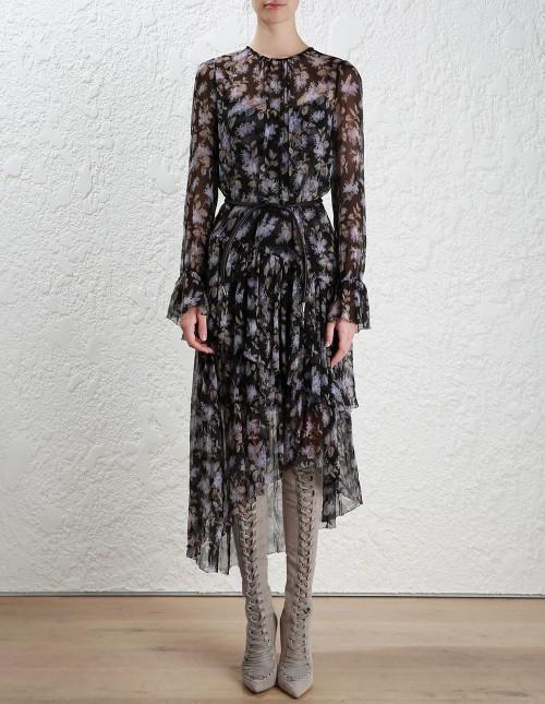 610b37cc6373 Zimmermann Stranded Tier Long Dress | The Volte