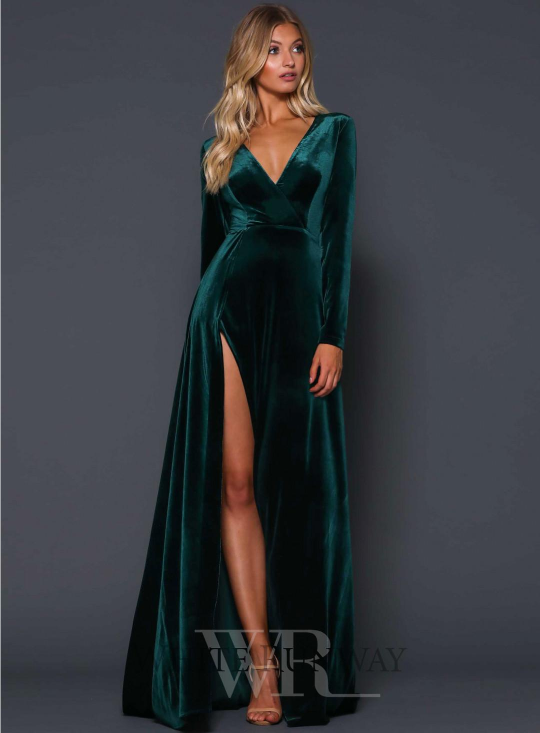 Elle Zeitoune Fontaine Emerald Green Gown Size 10 The Volte