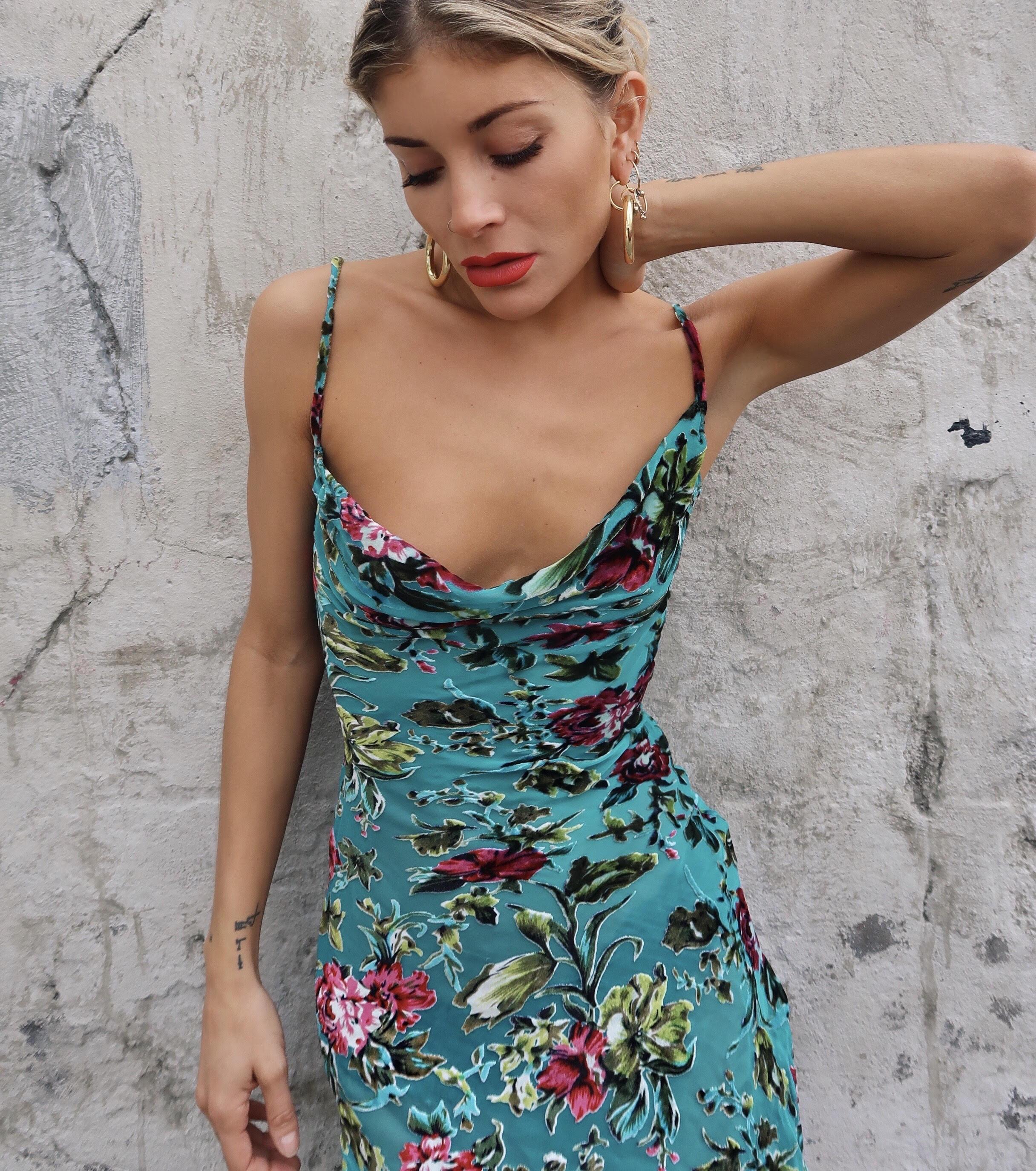MARIMEKKO Juliaana Moss Dress - We Select Dresses