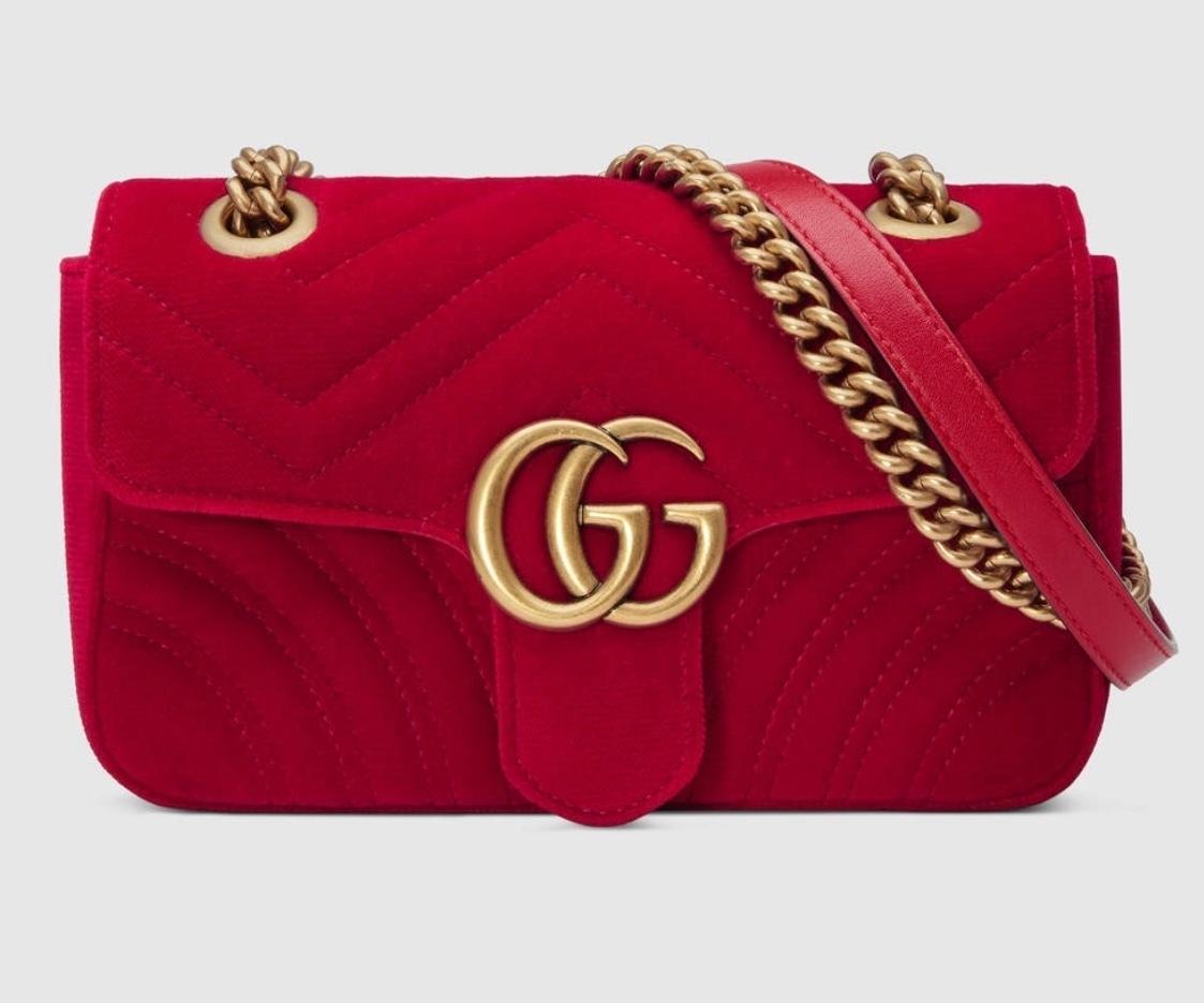 052fa3d63c54 Gucci Marmont - Red Velvet | The Volte