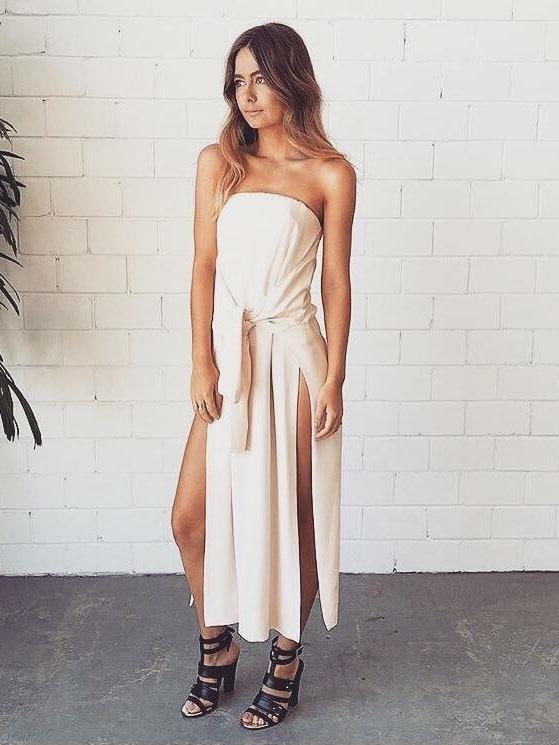 KITX Silk Strapless Dress Size 12 | The