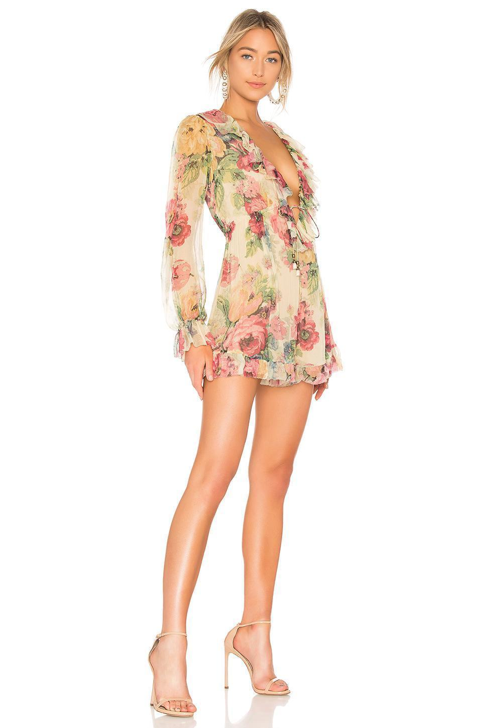3f74a4b996 ... Zimmermann - Melody Floating Playsuit Size 8 ...