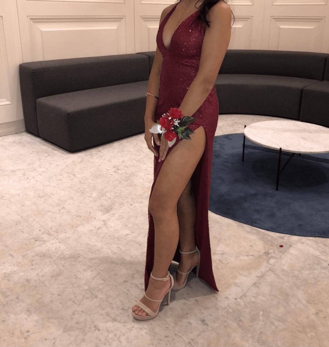 59fba40428ed meshki formal dress | The Volte